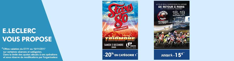 Stars80 - Supercross Paris
