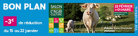 BON PLAN SALON AGRICULTURE