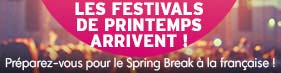 Selection : Festivals de Printemps