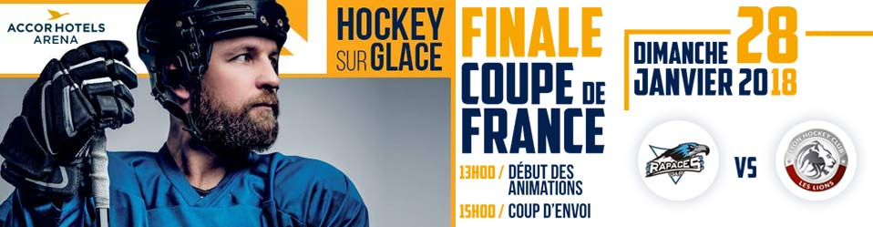 Finale coupe de France hockey