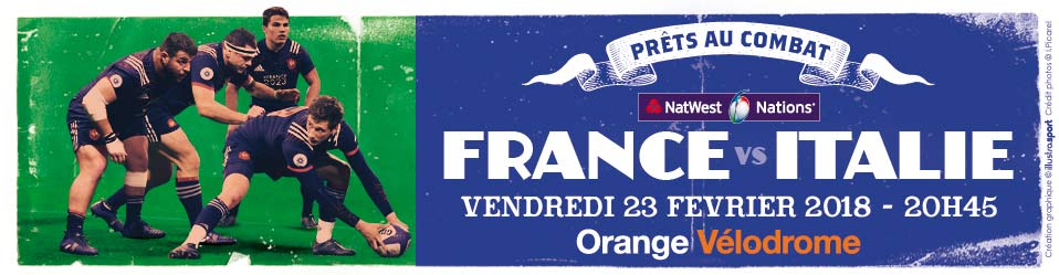 Rugby : France / Italie