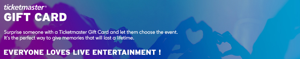 Buy Gift Cards The Perfect Present Ticketmasterfr